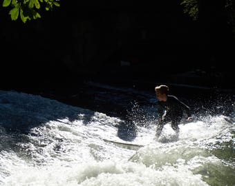 Munich River Surfer