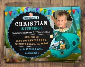 Octonauts Invites, Octonauts Printables, Octonauts Invite, Octonauts Invitation, Octonauts Birthday, Octonauts Party