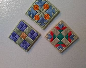 Mini Quilt Magnet