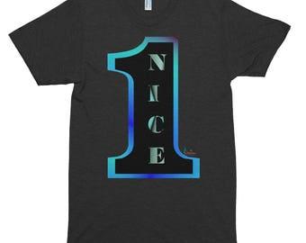 Nice 1,  Short sleeve soft t-shirt
