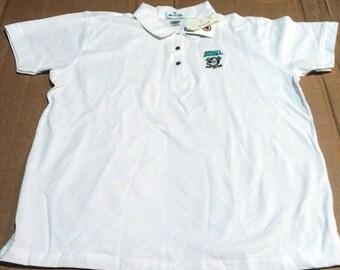 Anaheim Mighty Ducks Polo Shirt - Womens size Large