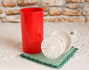 Vintage Hand Mixer, Plastic Egg Whites Mixer, Protein Mixer, Egg Whites Beater, Hand Mixer for Egg Whites, Vintage Kitchen, Farmhouse Decor