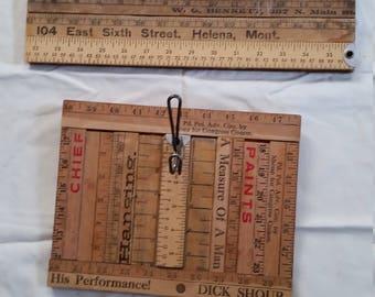 Vintage Homemade 2 MAN CAVE RULER Racks