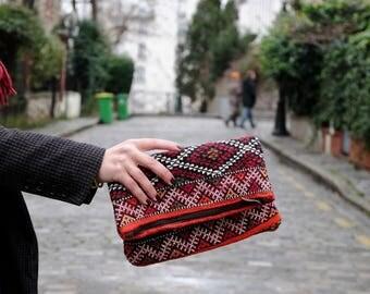 Berber Kilim clutch bag