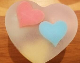 Heart 3D  Soap