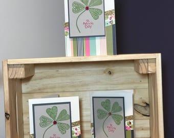 Set of three St Patricks Day cards