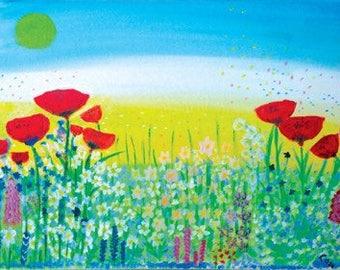 Poppy Fields digital download