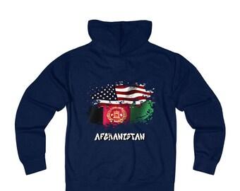 Amwo Zip Hoodie  Usa-Afghanistan