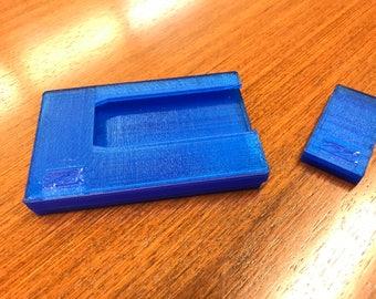 Minimalist 3D Printed wallet, minimalist wallet, front pocket wallet, slim wallet, credit card holder, personalized wallet, Money Clip