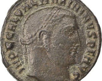 maximinus ii nummus nicomedia ef(40-45) copper cohen #116 3.40