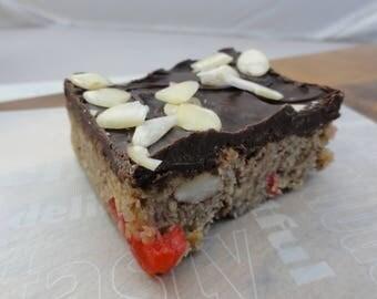 The Bakewell Belgian Chocolate Flapjack