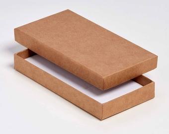 Postal Cardbord Jewellery/Universal Box 15x7.5x2