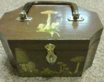 Vintage Wooden Box Purse