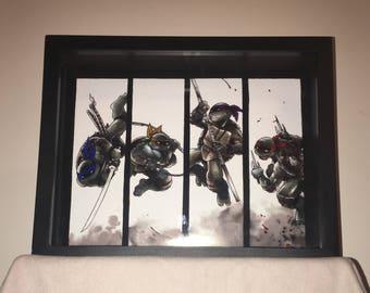 Teenage Mutant Ninja Turtles Display