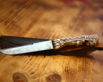"knife ""the Queen of the Aztecs"""