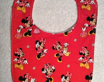 Minnie Mouse Baby Bibs