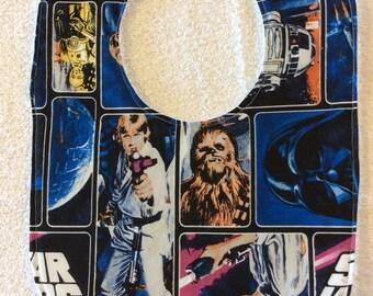 Classic Star Wars Blue Baby Bib