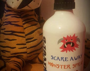 Personalised Scare Away Monster Spray