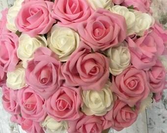 Roses centrepiece