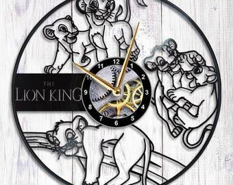 Lion King Vinyl Wall Clock