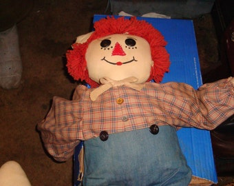 vintage raggedy andy doll