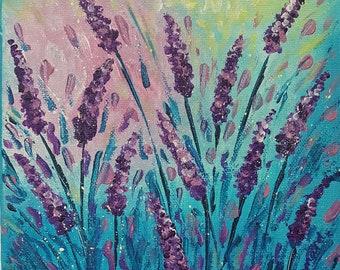 Lavender Blue small canvas