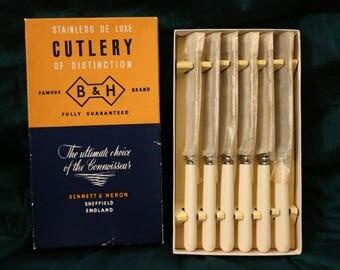Bennett & Heron Cutlery (6 Knives)