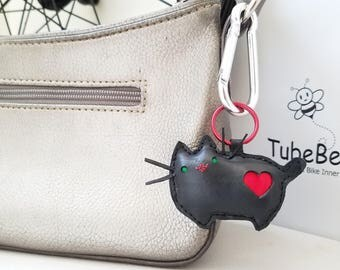 Pusheen Cat Keychain