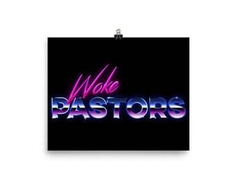 Woke Pastors poster