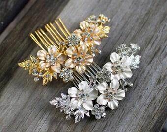 Bridal Hair Comb, Bridal Back Comb, Hair Accessory, Bridal Headpiece