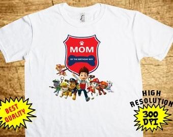 Paw Patrol Mommy, Paw Patrol Iron On Transfer, Paw Patrol Printable DIY Shirt Transfer, Digital Files, Instant Download