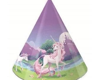 8 x Hats - Unicorn Fantasy