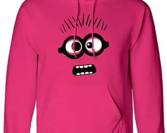 Depicible Me Minions Mens Hoodie Funny Large Hoody Pullover