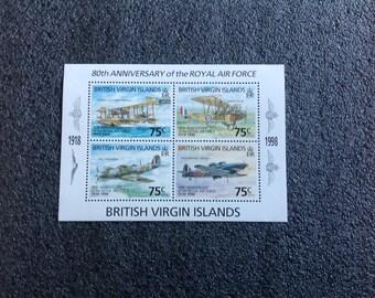 British Virgin Islands (80th Anniversary of the Royal Air Force)