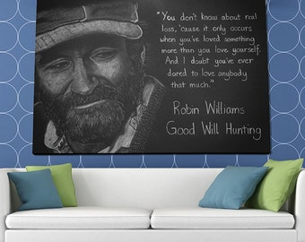 Good Will Hunting Poster or Canvas
