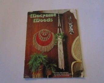 Macrame Moods - Vintage macrame designs including Macra-Weaving and Macra-Sculpture