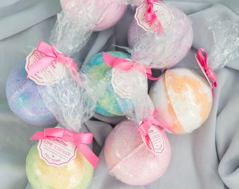 ASSORTED 50 Pack Bath Bombs 6.5 oz.