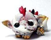 "Precious Marbled Gold Trollfling Troll dragon ""Kei"" by Amber Matthies"