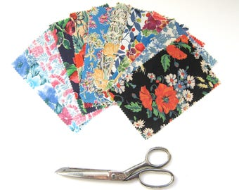 Liberty Tana Lawn Charm Pack 10 Pieces