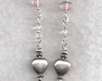 ON SALE Heart Earrings