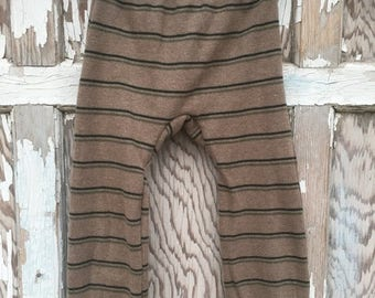 40% OFF- Big Butt Pants-Striped-Recycled Clothing-Sweater Pants-2T
