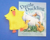 Duck Hand Puppet and Book Set / Duckling Puppet and Book