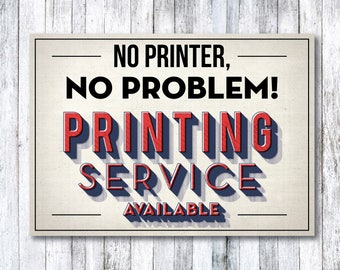 Printing Service for your Photo Booth Props and Signs - UNCUT on 8.5 x 11 Matte Cardstock