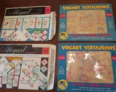4 Vintage VOGART Transfer Patterns for Embroidery or Painting