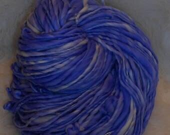 Soft Violet Bulky Single Ply 100 yards 5 oz  Merino