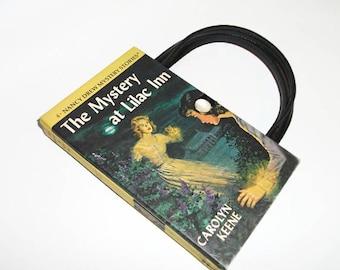 Nancy Drew Book Purse Mystery at Lilac Inn Vintage Handbag