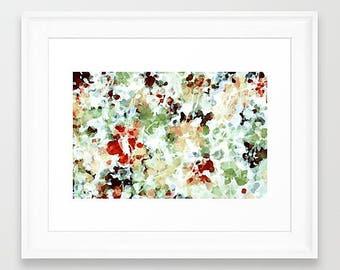 Framed Abstract Art, Abstract Art, Abstract Art Print, Framed Art Print, Watercolor Print, Pastel Art Print, Watercolor Painting