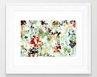 Watercolor Print, Abstract Art Print, Abstract Watercolor, Pastel Watercolor, Watercolor Art Print, Watercolor Painting, Green Watercolor