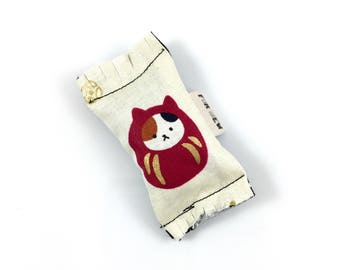 Roly Poly Cat Green Bean Organic Eco Friendly Catnip Cat Toy For Mew