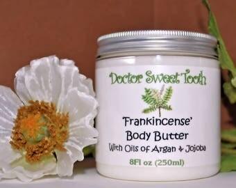Frankincense Whipped Body Butter with Argan & Jojoba Oil